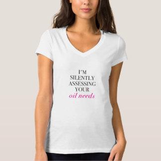 Camiseta Eu estou avaliando silenciosamente suas