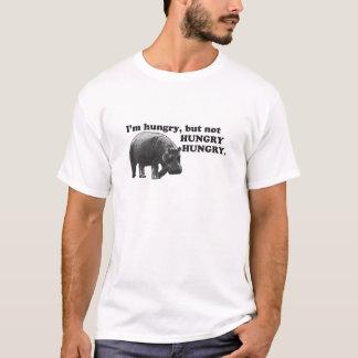 Camiseta Eu estou com fome, mas NAO COM FOME, COM FOME