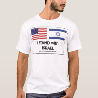 Camiseta Eu estou com Israel