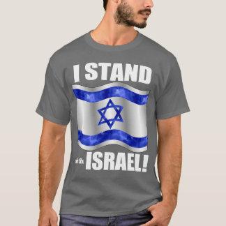 Camiseta Eu estou com Israel!