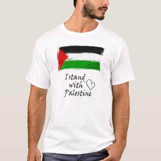Camiseta Eu estou com Palestina