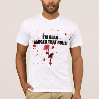 Camiseta Eu estou contente mim evitei esse t-shirt urbano