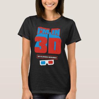 Camiseta Eu estou em 3D (nenhum vidro exigido)