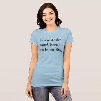 Camiseta Eu estou em meu 60s & ainda esfrio! - T-shirt do
