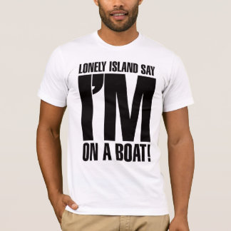 Camiseta Eu estou em um barco