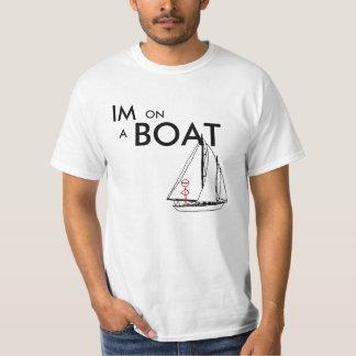 Camiseta Eu estou em um barco 2