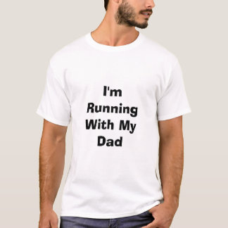Camiseta Eu estou funcionando com meu pai