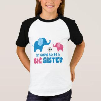 Camiseta Eu estou indo ser um futebol 2018 da irmã mais