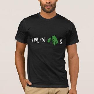 Camiseta Eu estou nas barracas