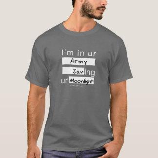 Camiseta Eu estou no exército de Ur