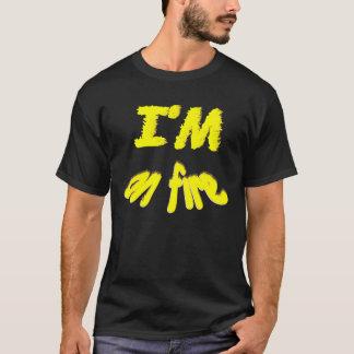 Camiseta Eu estou no FOGO!!!!!!