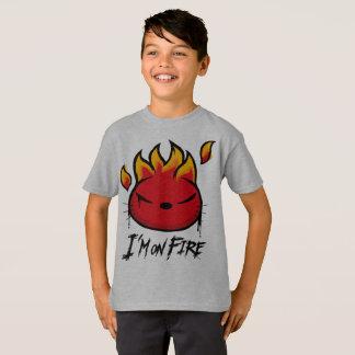 Camiseta Eu estou no fogo. Para aqueles que amam o