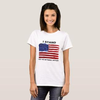 Camiseta Eu estou - o t-shirt da bandeira americana
