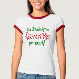 Camiseta Eu estou presente do favorito do pai