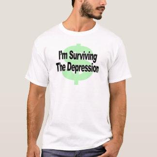Camiseta Eu estou sobrevivendo à depressão