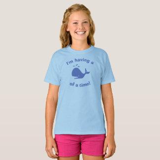 Camiseta Eu estou tendo uma baleia de um momento!