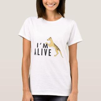 Camiseta Eu estou vivo - Thylacine