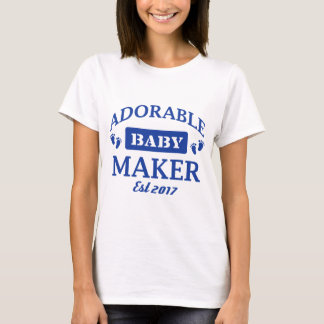 Camiseta Eu faço bebês adoráveis