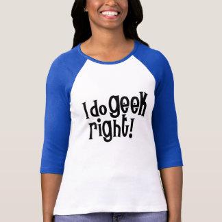 Camiseta Eu faço o direito do geek