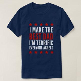Camiseta Eu faço o melhor pai