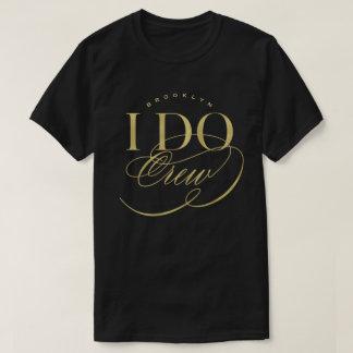Camiseta Eu faço o t-shirt conhecido feito sob encomenda da