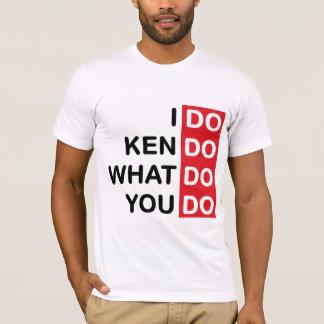 Camiseta Eu faço o t-shirt de Kendo