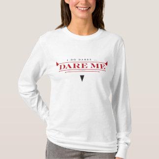 Camiseta Eu faço t-shirt da Longo-Luva das mulheres dos
