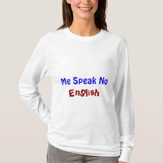 Camiseta Eu fala não inglês