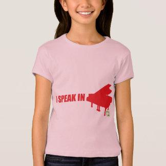Camiseta Eu falo na música!