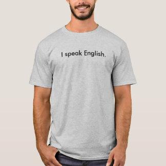 Camiseta Eu falo o inglês