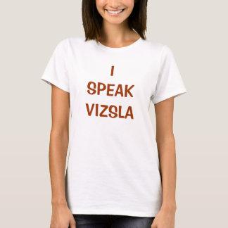 Camiseta EU FALO o t-shirt de VIZSLA (W)