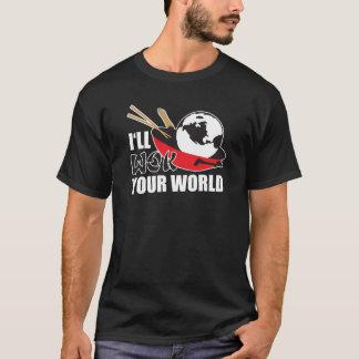 Camiseta Eu frigideira chinesa seu mundo