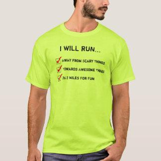 Camiseta Eu funcionarei 26,2 milhas para o TShirt do