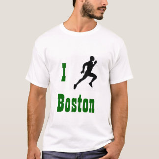 Camiseta Eu funciono o t-shirt de Boston