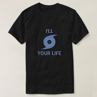 Camiseta Eu furacão sua vida