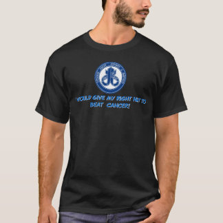Camiseta Eu g daria minha porca DIREITA ao cancer da batida