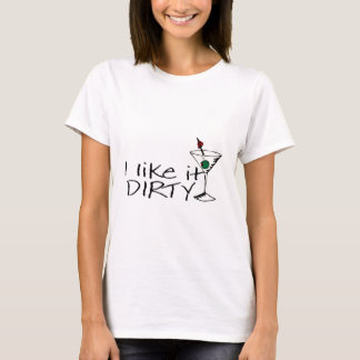 Camiseta Eu gosto d Martini sujo