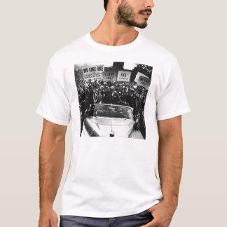 Camiseta Eu gosto da campanha de Ike Dwight D. Eisenhower