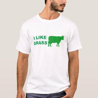 Camiseta Eu gosto da grama