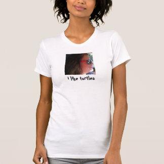 Camiseta Eu gosto de tartarugas