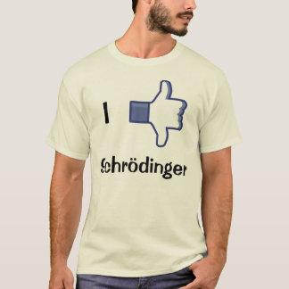 Camiseta Eu gosto/desagrado Schrodinger