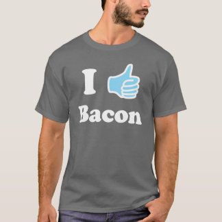 Camiseta Eu gosto do bacon