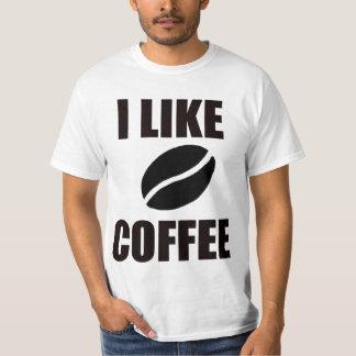 Camiseta Eu gosto do café