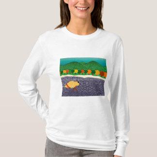 Camiseta eu gosto do vara-Outono em Vermont-Stephen Huneck