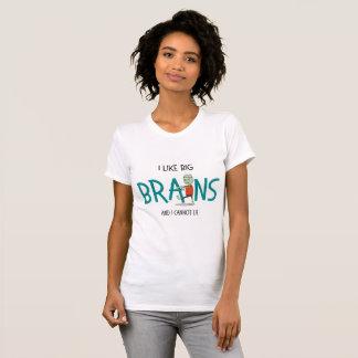 """Camiseta """"Eu gosto t-shirt do zombi do Dia das Bruxas dos"""