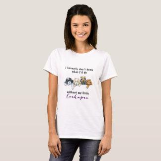 Camiseta Eu honesta não sei que identificação faz… Cockapoo