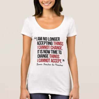 Camiseta Eu já não estou aceitando coisas que eu não posso