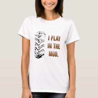 Camiseta Eu jogo na lama