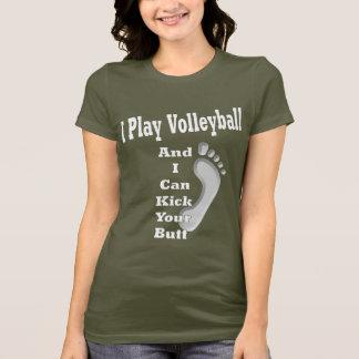 Camiseta Eu jogo o voleibol…