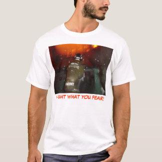 Camiseta Eu luto o que você teme!